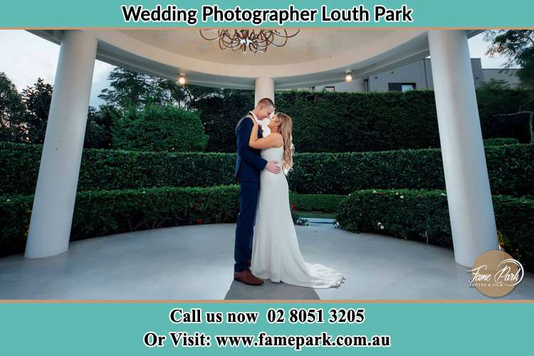 Photo of the Bride and Groom dancing Louth Park