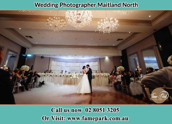 Photo of the Bride and the Groom dancing Maitland North NSW 2320